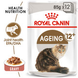 Royal Canin Ageing 12+ in Gravy Wet Cat Food