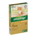 Advantage Flea Treatment For Cats 0-4kg