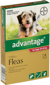 Advantage Flea Treatment For Dogs 10-25kg