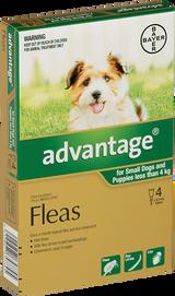 Advantage Flea Treatment For Dogs 0-4kg