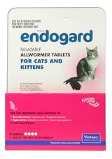 Endogard Cat Wormer Tablets