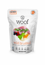 The NZ Natural Pet Food Co Woof Wild Brushtail Freeze Dried Dog Food
