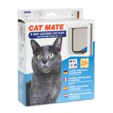 Petmate 4 Way Locking Wood Fitting with Liner Cat Door