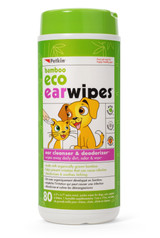 Petkin Bamboo Ear Wipes