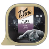 Dine Wet Cat Food Cuts In Gravy With Lamb 85g