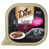 Dine Wet Cat Food Classic Terrine With Beef 85g