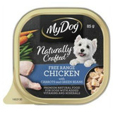 My Dog Naturally Crafted Wet Dog Food Free Range Chicken with Carrots and Green Beans 85g