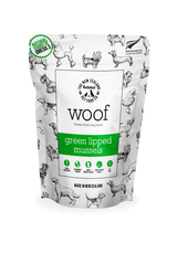 The NZ Natural Pet Food Co Woof Green Lipped Mussel Treats 50g