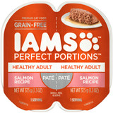 IAMS Perfect Portion Healthy Adult Salmon Pate Wet Cat Food