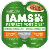 IAMS Perfect Portion Healthy Adult Healthy Metabolism Chicken Pate Wet Cat Food