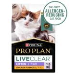 Pro Plan LIVECLEAR Chicken Dry Kitten Food