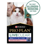 Pro Plan LIVECLEAR Salmon & Tuna Dry 7+ Cat Food