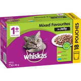Whiskas Mixed Favourites in Jelly