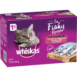 Whiskas OH SO FISHY Seafood Servings in Jelly