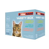 Feline Natural Grain-Free Variety Pouch Wet Cat Food