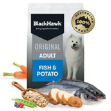 Black Hawk Original Fish & Potato Adult Dry Dog Food