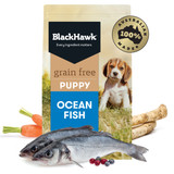 Black Hawk Grain Free Ocean Fish Dry Puppy Food