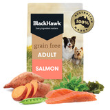 Black Hawk Grain Free Salmon Dry Dog Food