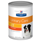 Hill's Prescription Diet c/d Multicare Chicken Urinary Care Wet Dog Food Cans