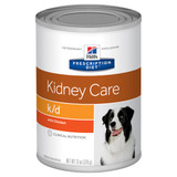 Hill's Prescription Diet k/d Kidney Care with Chicken Canned Dog Food