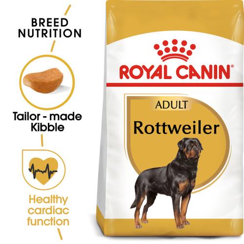 Royal Canin Rottweiler Adult Dry Dog Food