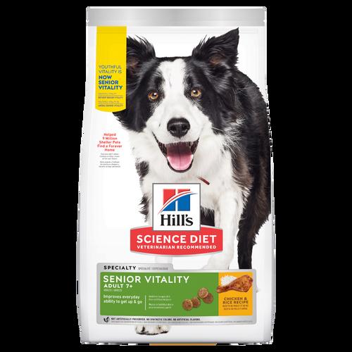 Hill's Science Diet Senior Vitality Dry Dog Food