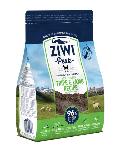 Ziwi Tripe & Lamb Air Dried Dog Food
