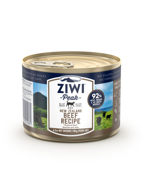 Ziwi Beef Wet Cat Food Cans