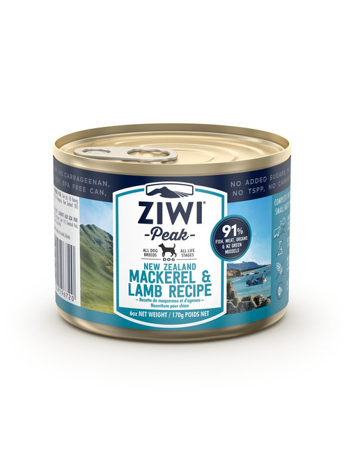 Ziwi Mackerel & Lamb Wet Dog Food