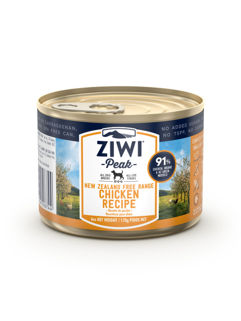 Ziwi Chicken Wet Dog Food Cans