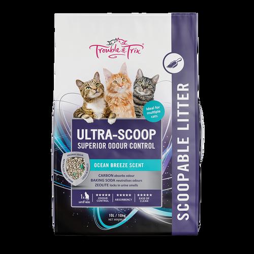 Trouble & Trix Ultra Scoop Cat Litter