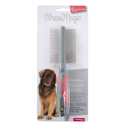 Yours Droolly Shear Magic Comb Double Sided