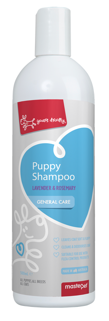 Yours Droolly Puppy Shampoo