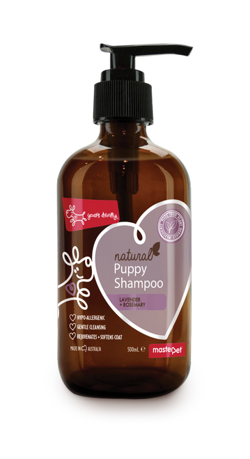 Yours Droolly Natural Puppy Shampoo