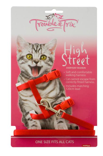 Trouble & Trix High Street Cat Harness