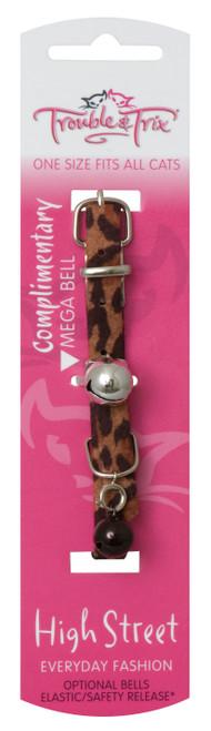 Trouble & Trix High Street Safari Leopard Collar