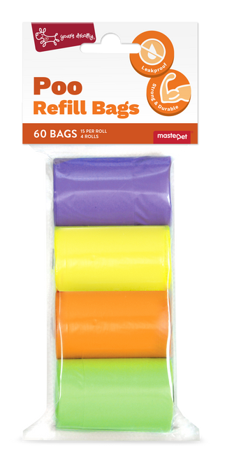 Yours Droolly Refill Bags Rainbow 60pk