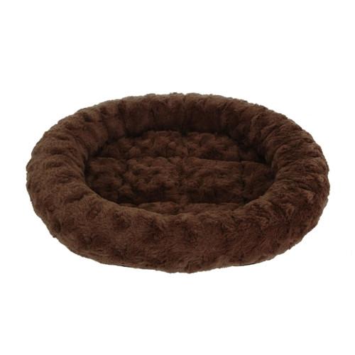 Trouble & Trix Oval Mocha Bed