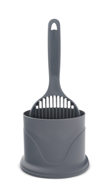 Trouble & Trix Litter Scoop with Holder