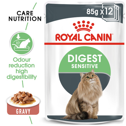Royal Canin Digestive Sensitive in Gravy Wet Cat Food