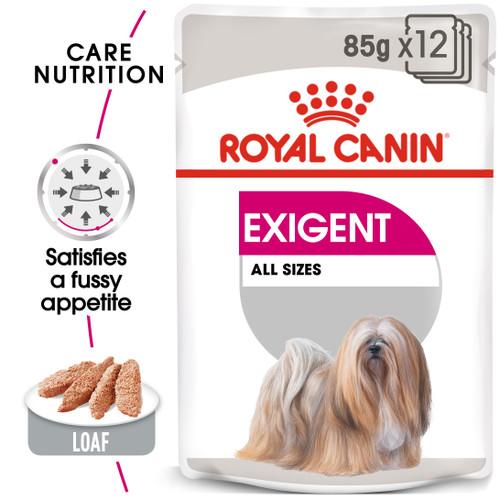 Royal Canin Exigent Loaf Wet Dog Food