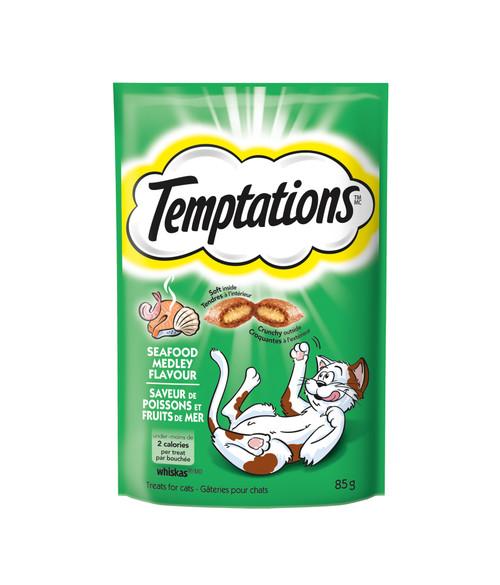 Temptations Cat Treats Seafood Medley
