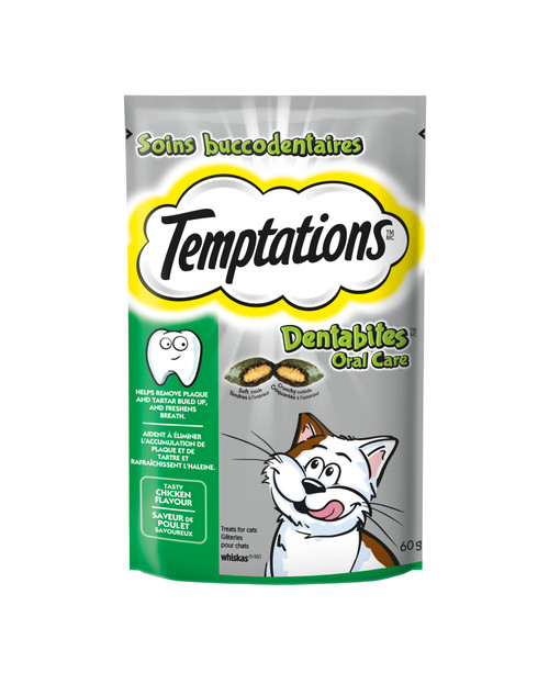 Temptations Cat Treats Dentabites Oral Care