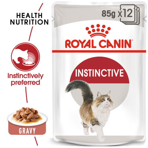 Royal Canin Instinctive Adult in Gravy Wet Cat Food