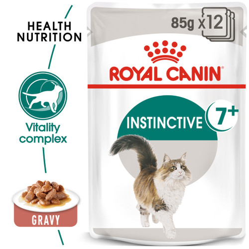 Royal Canin Instinctive +7 in Gravy Wet Cat Food