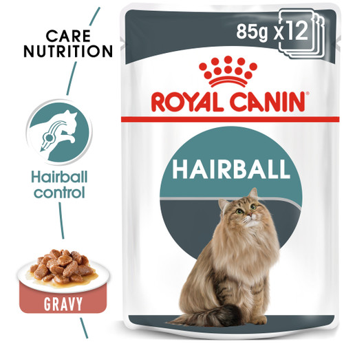 Royal Canin Hairball Care in Gravy Cat Food