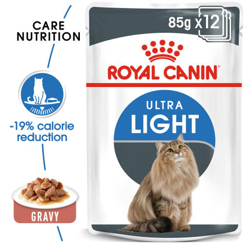 Royal Canin Ultra Light in Jelly Cat Food