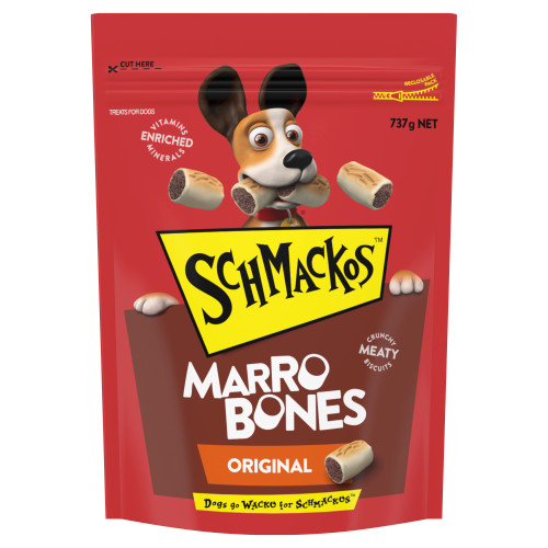 Schmackos Dog Treats Marrobones