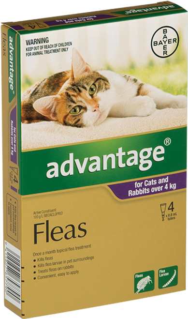 Advantage Flea Treatment For Cats 4-10kg