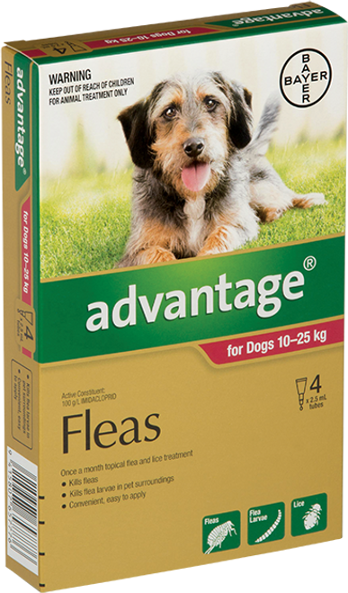 Advantage Flea Treatment For Dogs 10-25kg